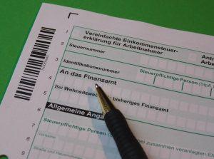 Steuererklärung und Buchführung